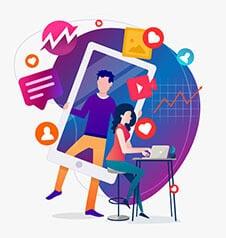 إدارة حملات التسويق فيسبوك وتويتر وانستجرام وجوجل